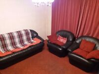 Three Piece Suite (Sofa + Two Armchairs) - FREE FOR COLLECTION