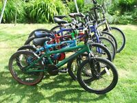 Joblot Of 6 Bmx Bike 6 Bmx Bikes 20in Wheel All Need Some Tlc Only £50 For The Lot