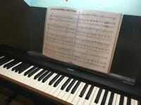 Yamaha digital piano including stand/music stand