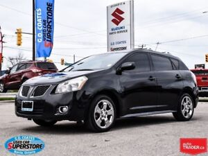 2009 Pontiac Vibe AWD ~Power Moonroof ~Chrome Wheels ~Low KM