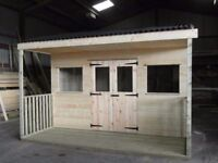 Midmar Timber Quality Garden Sheds - Dog Kennels - Log Stores - Sleepers - Bark - Fencing - Decking