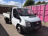 FORD TRANSIT 100 T350M RWD 2007REG TIPPER FOR SALE