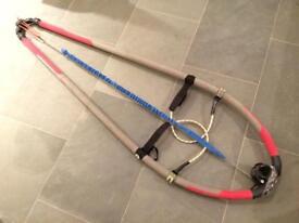 Neil Pryde X3 windsurfing boom - tail piece seized!