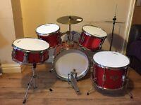5 piece Drum set - used