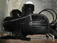 Submersible 25,000 litre water pump for ponds & fish systems Koi