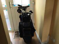 Golf Bag, Clubs, Trolley