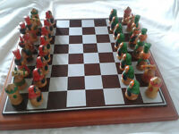 Matryoshica Doll Chess Set