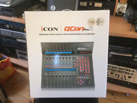 Icon QCon Pro X - DAW Controller - Immaculate/Boxed - Studio Clearance