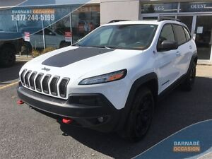 2015 Jeep Cherokee Trailhawk -V6 Cuir-Toit Pano -Gr Commodité*