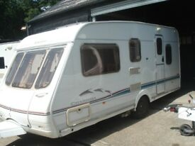 R&K CARAVANS 2002 SWIFT CHARISMA 540 5 BERTH WITH MOTOR MOVER, 3 MONTHS WARRANTY