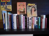 BOOKS AND ANNUALS VARIOUS