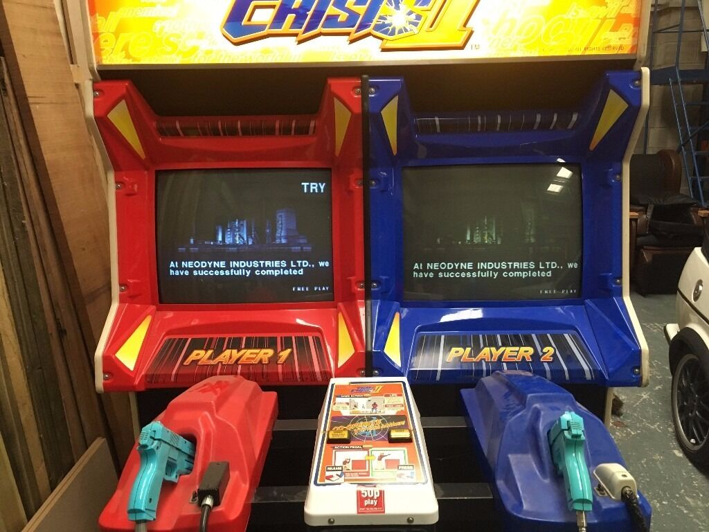Time crisis 2 Arcade Machine - REAL ONE! complete with 2 ...