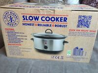 Hairy Bikers Slow Cooker 3.5L (BRAND NEW, SEALED)