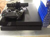 PlayStation 4 , all leads, camera, 13 games