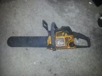 McCulloch Chain Saw Mac 438 Petrol Chain Saw - not working properly