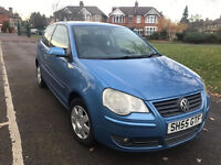 55 volkswagen polo 1.2 petrol 85000 miles 12 months mot very clean facelift model cheap to run