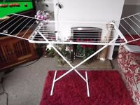 Laundry Clothes Airer - Winged/Folding - vgc