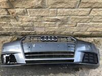 Genuine Audi A4 B9 Facelift 8W0 Front Bumper 2016-2017-