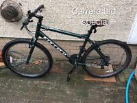 Carrera Parva Ltd 27.5 special edition mountain hybrid bike £125