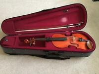 3/4 stentor student violin with kun rest as extra