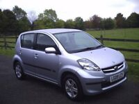 2009. SUBARU JUSTY 1.0 R.5 DR. 17000 MILES ONLY. 1 OWNER. FSH.