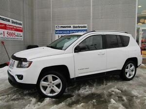 2014 Jeep Compass HIGH ALTITUDE CUIR 8900KM TOIT OUVRANT AUTOMAT