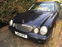Mercedes E240 AUTOMATIC. 82000miles only