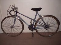 "Classic/Vintage/Retro Raleigh Wisp 21"" Racing/Road Bike (will deliver)"