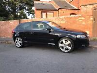 Audi A3 S line Quattro 170bhp 6sp 2007-CHEAP may PX