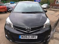 Toyota Yaris Diesel 1.4 D-4D Icon+ 5dr 2014 (63) *** No Road Tax ***** £6850