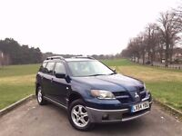 2004/54 MITSUBISHI OUTLANDER 2.4 SPORT, PETROL, AUTOMATIC, 4x4***GENUINE 66,000 MILES***MOT OCT 2017