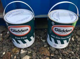 2 x Tins of floor paint