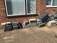 Lots of new roof tiles from a recent loft extension. Free. Collection from Bushey.