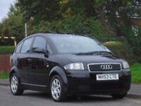 Audi A2 1.4 Colour Storm 5dr£1,499 p/x welcome LONG MOT,LOW TAX & INSURANCE