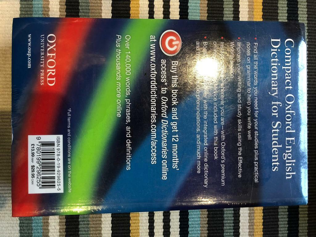 Oxford English Dictionary For Students - new | in Harborne, West Midlands |  Gumtree