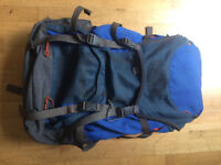 Used Vaude Backpack 55+10L