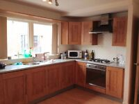 Spacious double bedroom in modern city centre flat
