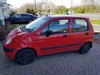Low insurance daewoo matiz