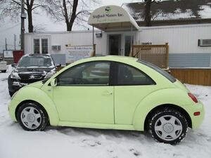 2001 Volkswagen New Beetle GLS- AUTOMATIC- LOADED