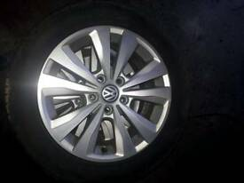 Vw volkswagen golf alloys alloy wheels