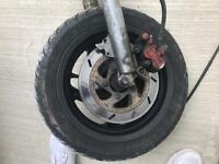 Gilera Runner front wheel