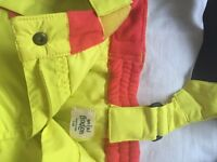 Ski Trousers Child Boden 7-8 in Yellow