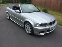 52 BMW 325 M SPORT CONVERTIBLE ** SERVICE HISTORY **