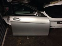 Mercedes c class doors with door cards
