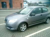 2010 chevrolet aveo.1.2.full service history,low mileage,suit new driver,like polo/corsa