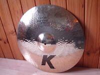 "Zildjian K Custom 18'' Fast Crash Cymbal & Zildjian K 12"" Splash Cymbal"