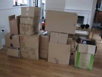 EMPTY CARDBOX BOXES , FOR REMOVALS , STORAGE, ETC harlow cm18 6rg