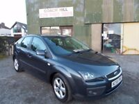 2007 FORD FOCUS CLIMATE 1 YEARS MOT EXCELLENT CAR MUST BE SEEN AND DRIVEN 12 MOTHS WARRANTY