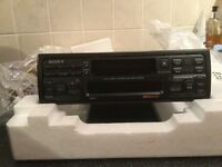 Sony RDS radio cassette player.