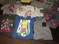 Various boys tshirts